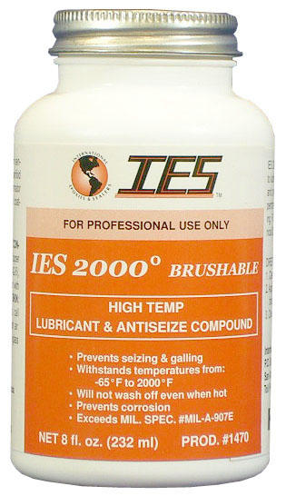 IES 2000 Anti-Seize Lubricant Brush-On