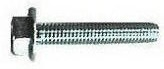 Flange Bolt Serrated UNC Zinc   070