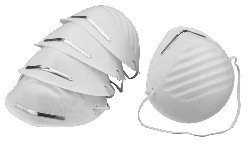 Dust Mask Niosh N95 White