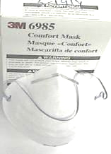 Dust Mask Niosh N95 White 3M