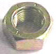 HEX NUT SAE YELLOW ZINC GRADE 8