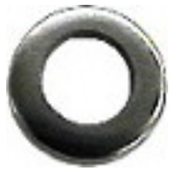FLAT WASHER STAINLESS STEEL METRIC