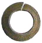 Lock Washer Metric Yellow Zinc