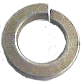 LOCK WASHER USS YELLOW ZINC GRADE 8