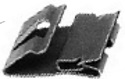 Ford N8017455-S100 Lower Grill Clip   D&S Sales