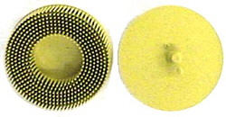 BRISTLE DISK YELLOW 3""