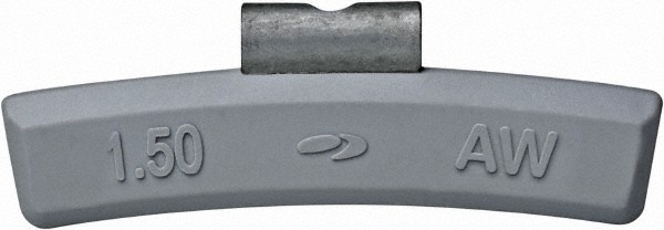 Wheel Weight Series AWS Polymer Coated Lead Clip-On