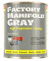 FACTORY MANIFOLD GRAY <br><small><em>Replaced with High Temp Paint</em></small>