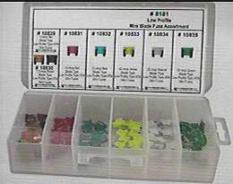 LOW-PROFILE ATM FUSE ASSORTMENT  95pcs