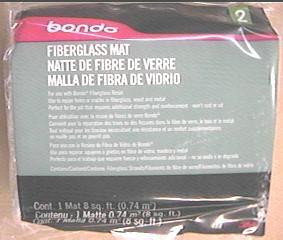 Fiberglass Mat 8x8'